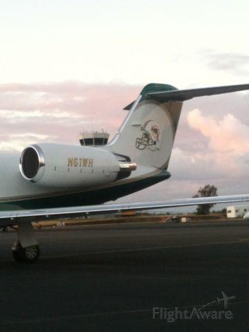 Gulfstream Aerospace Gulfstream IV (N61WH) - MIAMI DOLPHIN LOGO
