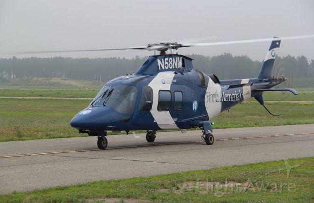 SABCA A-109 (N58NM) - North Memorial Air Care Augusta A109S with it