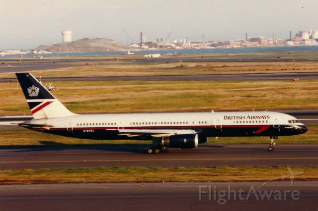 Boeing 757-200 (G-BPEC) - From the mid-late 1990's