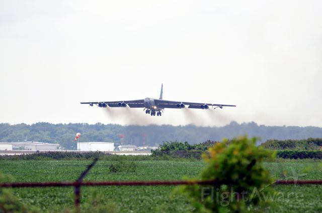 Boeing B-52 Stratofortress — - Windsor International Airshow 2011