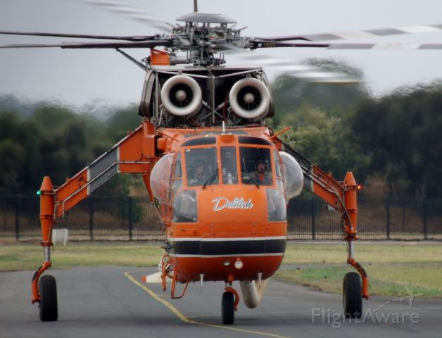 Sikorsky CH-54 Tarhe (N194AC) - Sikorsky S-64 Aircrane