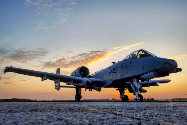 Fairchild-Republic Thunderbolt 2 — - A-10 taken at the 2017 Airshow London, Ontario Canada