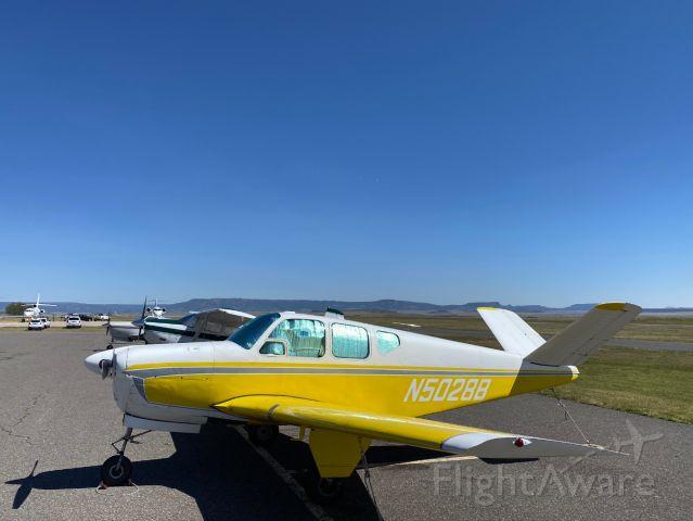 Beechcraft 35 Bonanza (N5028B)