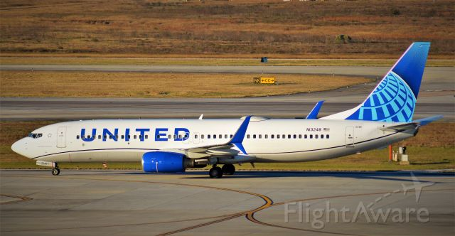 Boeing 737-800 (N13248) - N13248 in the New Paint Scheme for United.