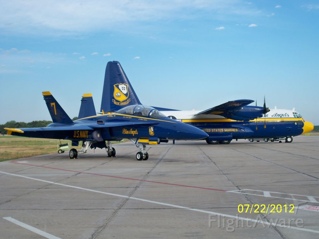 — — - Blue Angels #7 and Fat Albert