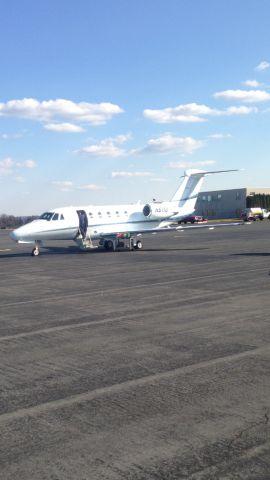 Cessna Citation III (N6110) - Cessna Citation III parked at KRDG