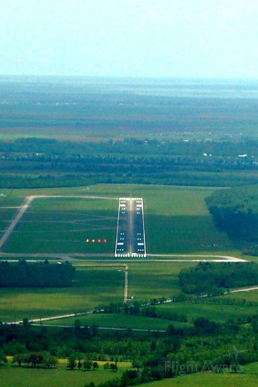 KLCH — - KLCH, Lake Charles Regional (Louisiana). Long final runway 15, 6500