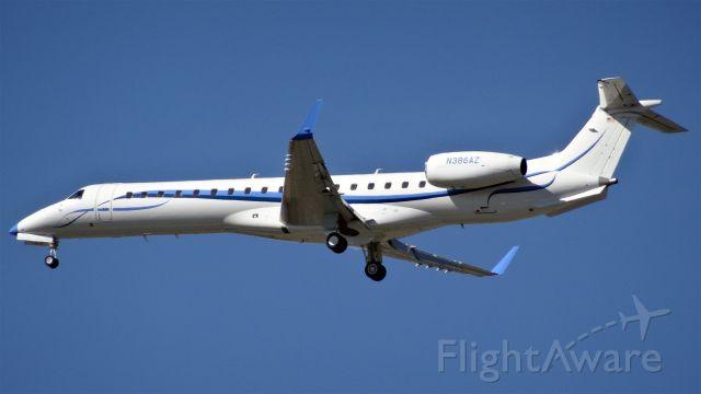 Embraer EMB-145XR (N386AZ) - 20150618-171434.jpg<br />N386AZ Intel Air Shuttle Aircraft Embraer ERJ-145 - cn 14501159<br />Embraer EMB-145XR (twin-jet) (E45X/L)<br />2015-06-18 (HGT253)Sacramento (MHR)San Jose (SJC)-16:46-Landed 17:18