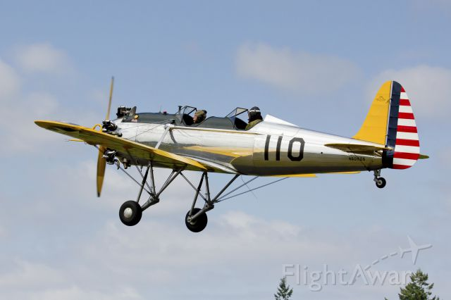 RYAN ST-3KR Recruit (N60805) - 1941 Ryan PT-22 departing Starks Twin Oaks. 7-6-13