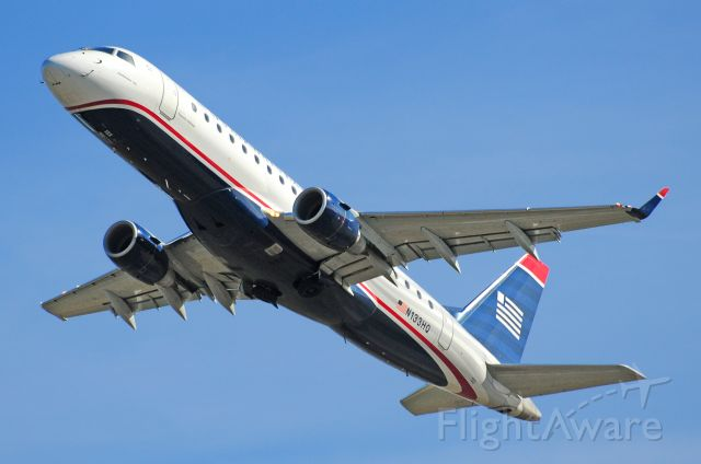 """Embraer 170/175 (N133HQ) - Seen at KDCA on 3/7/2010    <a href=""""http://discussions.flightaware.com/profile.php?mode=viewprofile&u=269247"""">  [ concord977 profile ]</a>"""