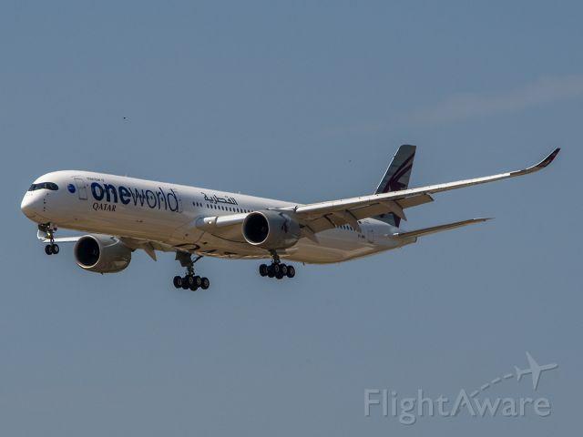 Airbus A350-1000 (A7-ANE) - 8/17/2020