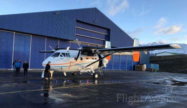 IAI Arava (LV-MTP) - Tierra del Fuego Island Government. Egg Flyer.