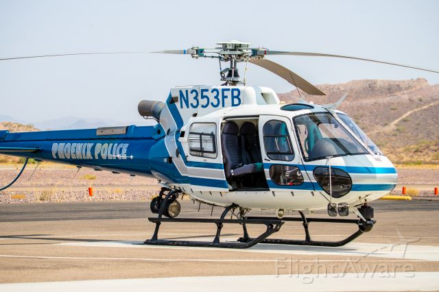 Eurocopter AS-350 AStar (N353FB) - Spotted at KDVT on 09/18/2020
