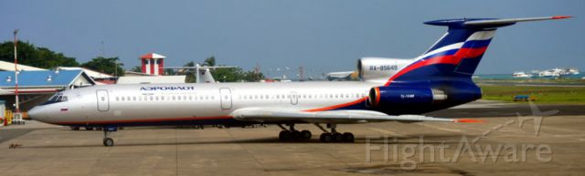 Tupolev Tu-154 (RA-85649) - An Oldie in the Maldives sun....
