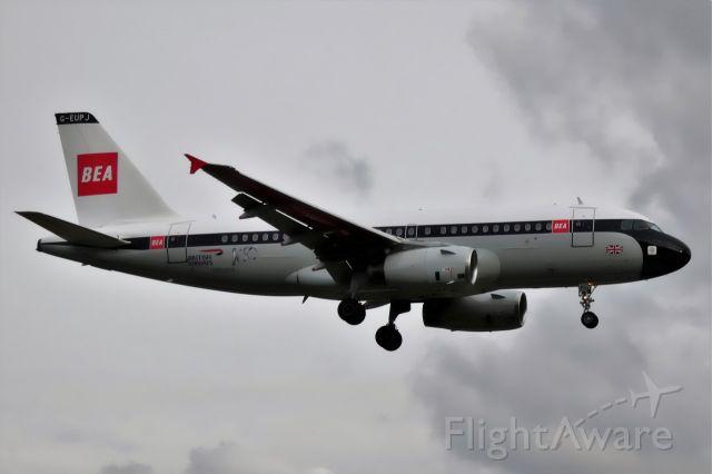 Airbus A319 (G-EUPJ) - BEA-livery, 100th anniversy BA