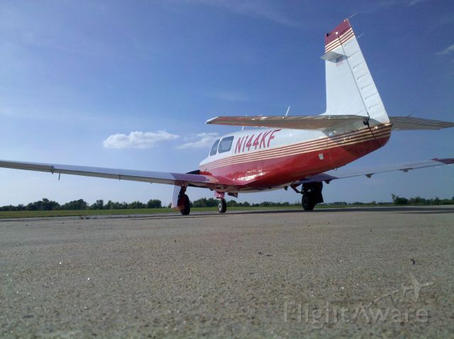 Mooney M-20 Turbo (N144KF) - Mooney M20J  M20 Turbo