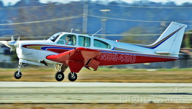 Beechcraft Bonanza (33) (N8943U)