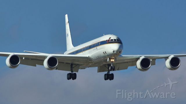 McDonnell Douglas DC-8-70 (N817NA) - 13R approach for NASA817<br />Jan.18,2021