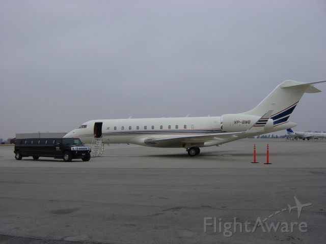 Bombardier Global 5000 (VP-BWB) - Bluegrass Field, Lexington, Kentucky