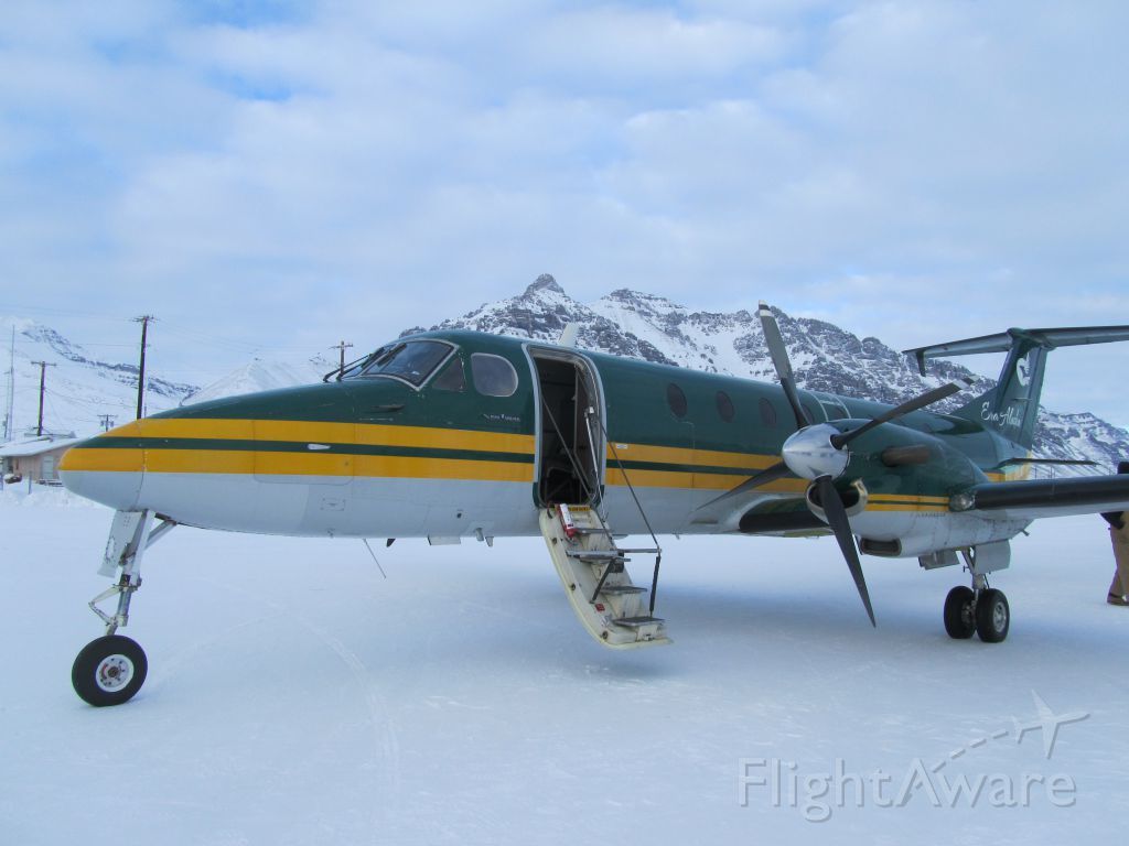 Beechcraft 1900 (N15503) - 503 in the Brooks Range!