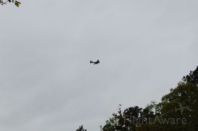 48-3872 — - B17 bomber flying by KCXO. Sorry for the bad pic. try to get a better one!