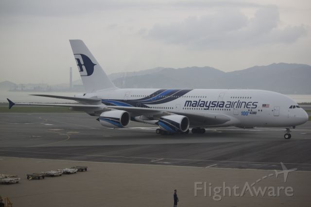 Airbus A380-800 (9M-MNF)