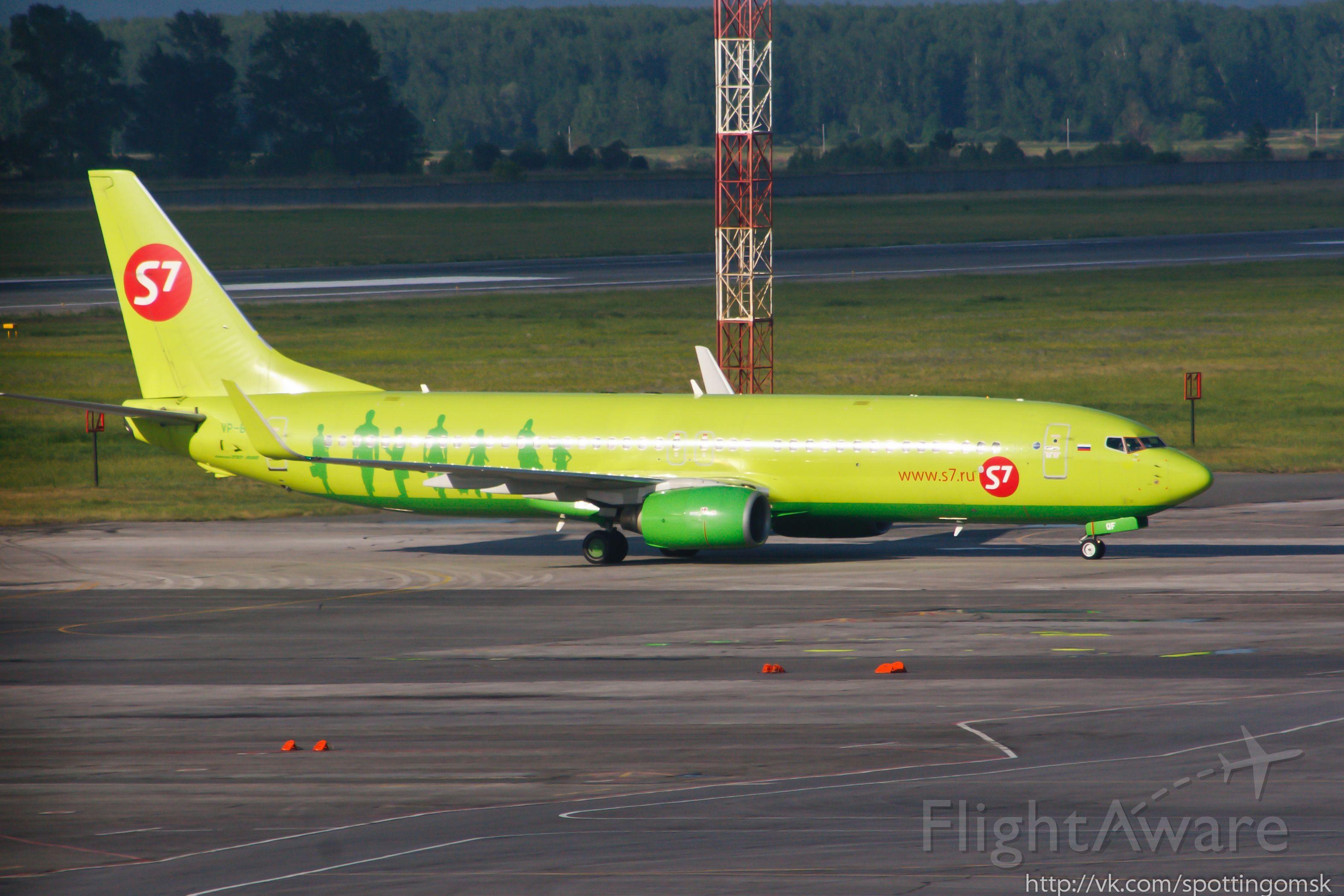 Boeing 737-800 (VP-BDF)