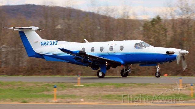 Pilatus PC-12 (N802AF)