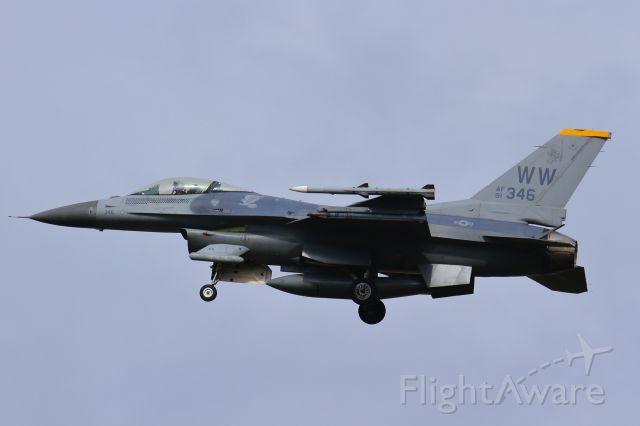 Lockheed F-16 Fighting Falcon (91-0346)