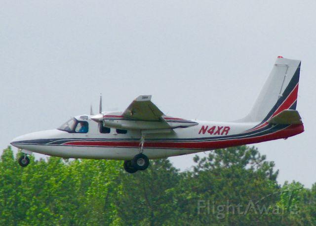 Aero Commander 500 (N4XR) - At Downtown Shreveport.