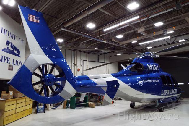 Eurocopter EC-155 (N916LL) - Penn State Life Lion N916LL.br /Taken on December 9, 2017.
