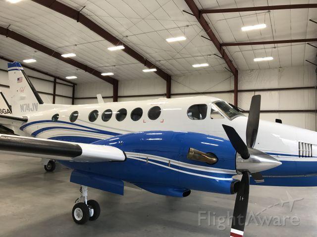 Beechcraft King Air 100 (N74JV) - Harden executive aviation