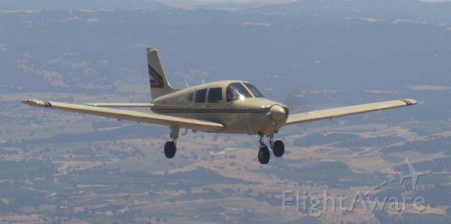 Piper Cherokee (N8321M) - Flying back from San Luis Obispo to Auburn.