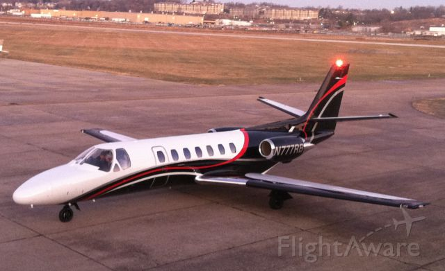 Cessna Citation V (N777RB) - Operated by Jet Air,Inc.