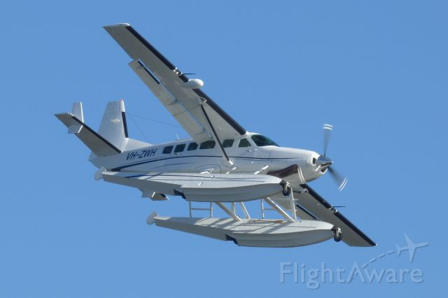 Cessna Caravan (VH-ZWH) - Performing a Seaplane demonstration at the Australia Day Airshow in Perth.