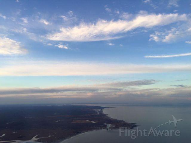 Piper Cherokee (N724CA) - Over Duxbury Beach