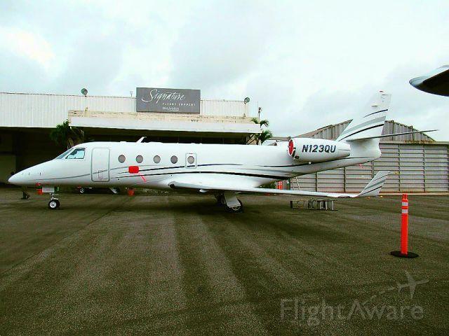 IAI Gulfstream G150 (N123QU)