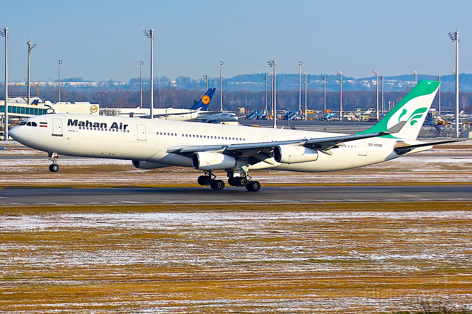 Airbus A340-300 (EP-MMB)