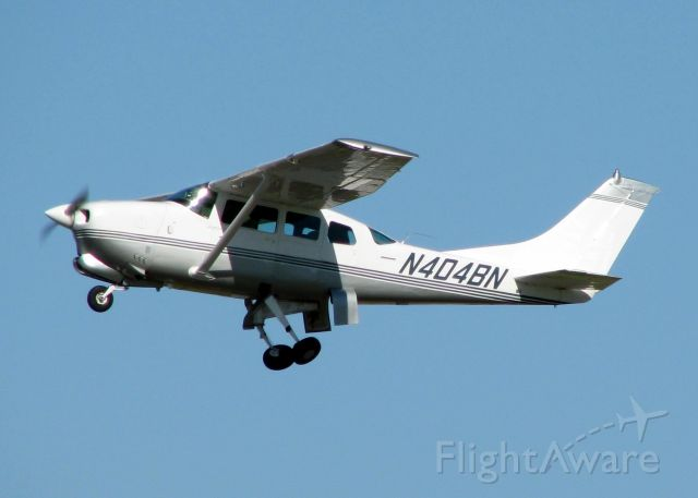 Cessna Centurion (N404BN) - Off of Rwy 32 at Downtown Shreveport.