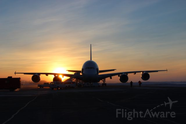 Airbus A380-800 (F-WWOW) - COLD WEATHER TESTING