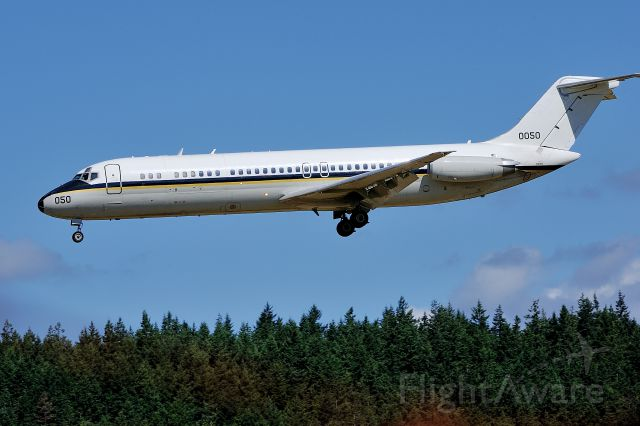 16-0050 — - 1975 McDonnell Douglas C-9B Skytrain II C/N 47669 Tail 160050 @ NAS Whidbey on August 31, 2012
