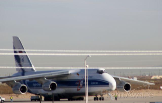 Antonov An-124 Ruslan (RA-82078) - Christmas In El Paso DEC 26th 2012