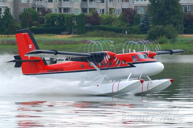 De Havilland Canada Twin Otter (C-GXXB) - From the Maldives to the mighty Fraser; just keeps going!