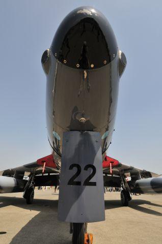 Hawker Hunter (N322AX) - 2012/4/28