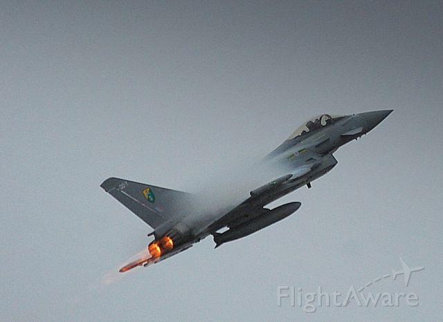 ZJ926 — - SOUTHPORT  AIR SHOW 26/09/09. RAF TYPHOONZJ926