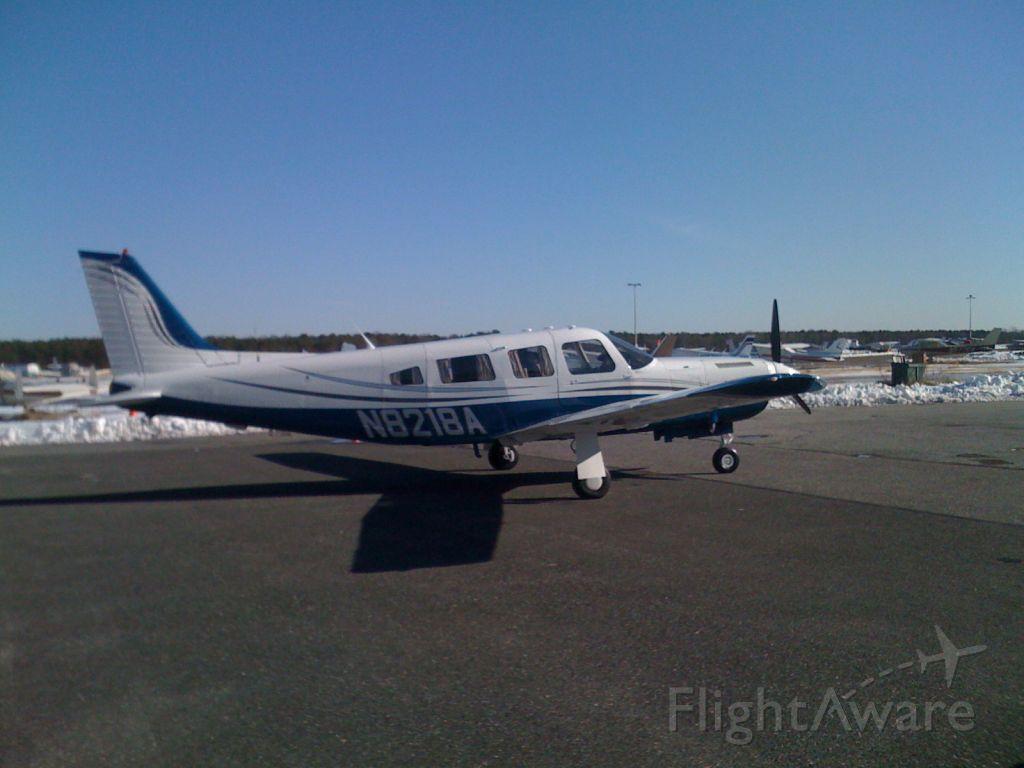 Piper Saratoga/Lance (N8218A) - Turbo Saratoga