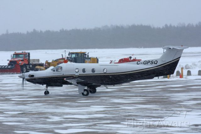 Pilatus PC-12 (C-GPSQ)