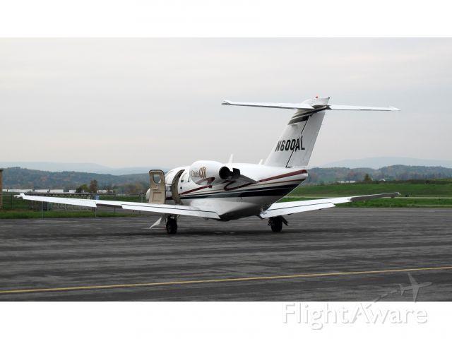 Cessna Citation CJ1 (N600AL) - A very nice CJ1.