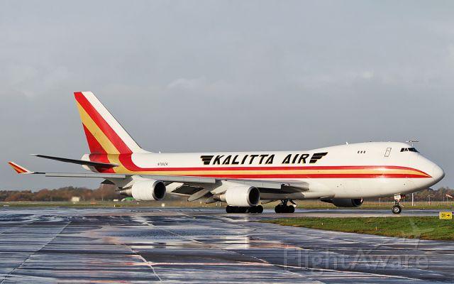 Boeing 747-400 (N700CK) - klaitta air b747-4r7(f) n700ck dep shannon for atlanta 2/12/18.
