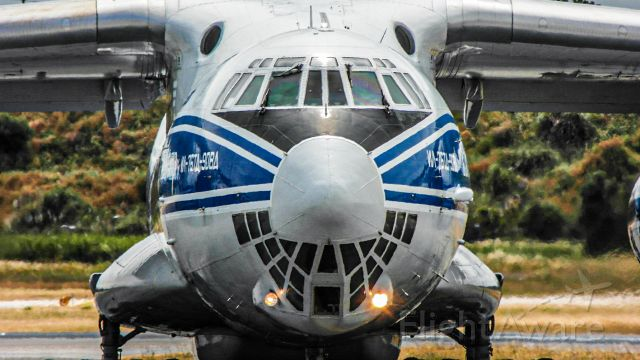 Ilyushin Il-76 (RA-76511) - Face2face with this amazing Russian monster!